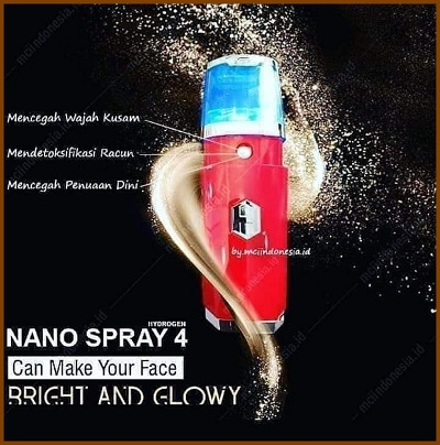 manfaat nano spray hidrogen